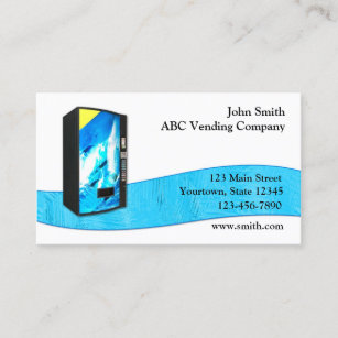 Vending business cards zazzle vending service business card colourmoves