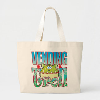 Vending Troll Large Tote Bag