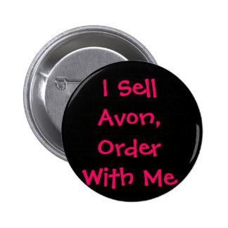 Vendo Avon, orden conmigo Pin Redondo 5 Cm