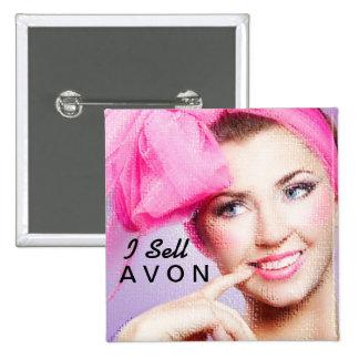 Vendo el botón cuadrado de Avon Pin Cuadrado