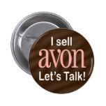 Vendo el botón de Avon Pin