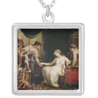 Vendor of Love Silver Plated Necklace