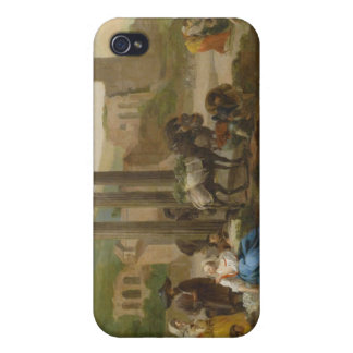 Vendors By Roman Ruins by Hendrik Mommers Case For iPhone 4