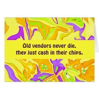 vendors humor card