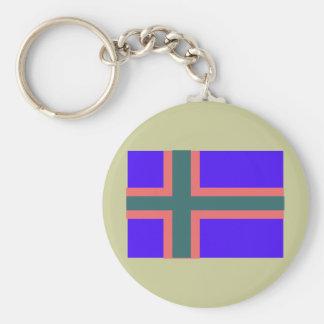 Vendsyssel, Denmark Basic Round Button Keychain