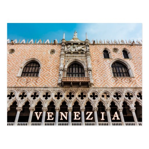 Venecia 001B Tarjeta Postal