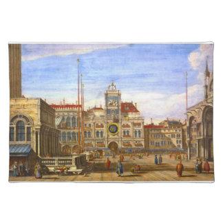 Venecia 1715 de St Mark Mantel Individual