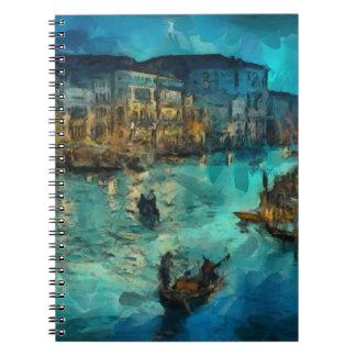 Venecia Canale grande Libretas