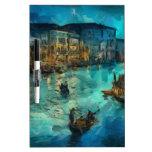 Venecia Canale grande Pizarras Blancas