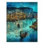 Venecia Canale grande Plantilla De Membrete