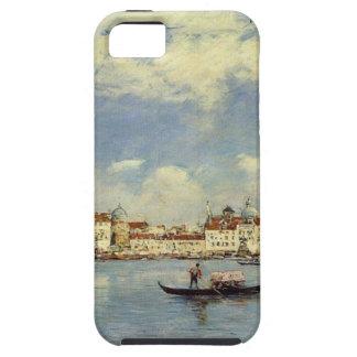 Venecia de Eugene Boudin iPhone 5 Funda
