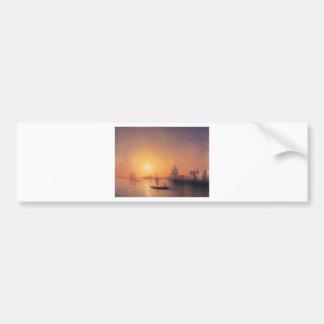 Venecia de Ivan Aivazovsky Pegatina Para Auto