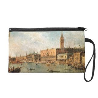 Venecia: El Molo del dux el palacio y de los vagos