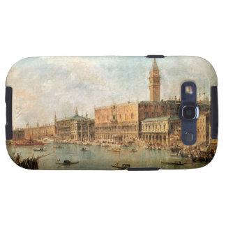 Venecia: El Molo del dux el palacio y de los vagos Galaxy SIII Cárcasas