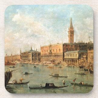 Venecia: El Molo del dux el palacio y de los vagos Posavasos De Bebida