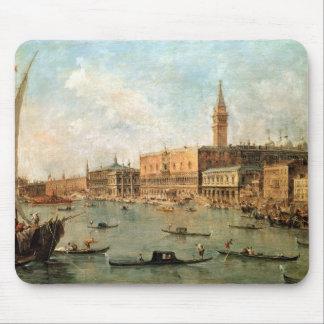 Venecia: El Molo del dux el palacio y de los vagos Alfombrilla De Ratones