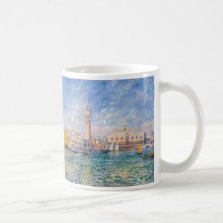 Venecia (el palacio) del dux Pierre-Auguste Renoir Taza De Café