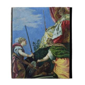 Venecia enthroned entre la justicia y la paz