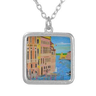 Venecia hermosa 2 colgante cuadrado