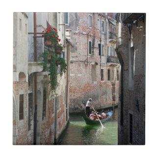 Venecia hermosa Italia Azulejo Cuadrado Pequeño