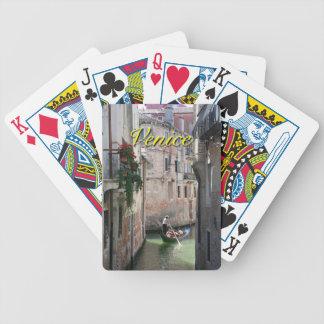 Venecia hermosa Italia Cartas De Juego