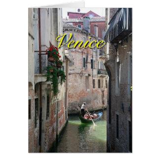 Venecia hermosa Italia Tarjeta De Felicitación