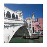 Venecia hermosa, puente de Rialto Tejas