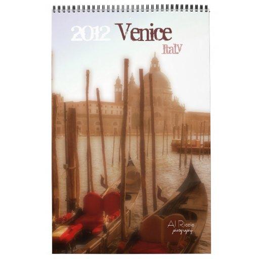 Venecia, Italia, 2012, Calendario De Pared