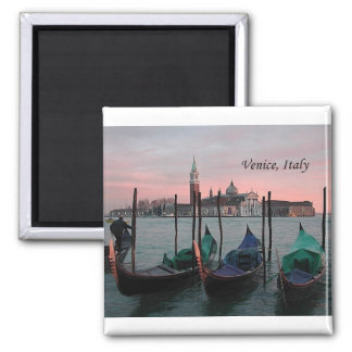 Venecia, Italia 2 (por St.K.) Imán Cuadrado