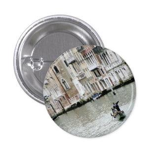 Venecia, Italia: En el Gran Canal Pin Redondo 2,5 Cm