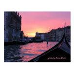 Venecia, Italia, foto de Marie Sager Postal