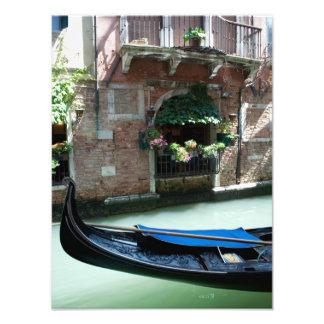 Venecia, Italia - foto del detalle de la góndola