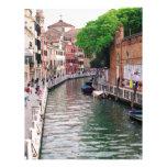Venecia, Italia Membrete A Diseño