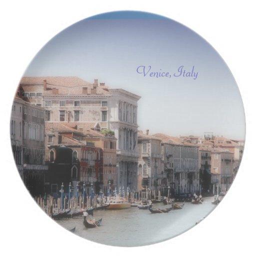 Venecia, Italia Plato Para Fiesta