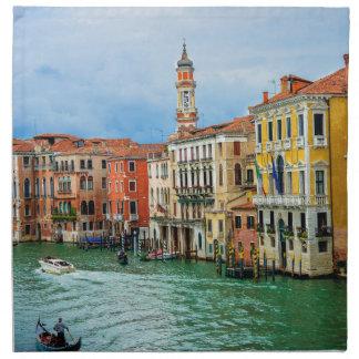 Venecia Italia Servilletas Imprimidas