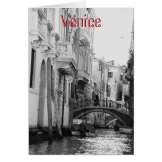 Venecia, Italia Tarjeta De Felicitación