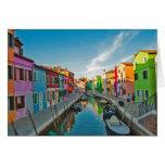 Venecia, Italia Tarjeta