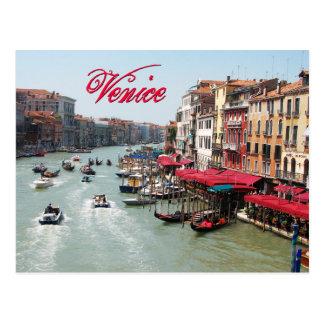 Venecia, Italia Tarjeta Postal