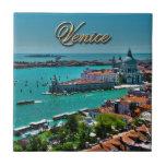 Venecia, Italia - visión aérea Azulejo Cuadrado Pequeño