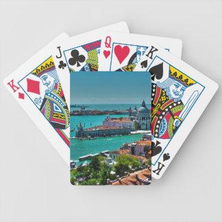 Venecia, Italia - visión aérea Cartas De Juego