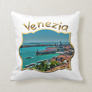 Venecia, Italia - visión aérea Cojín
