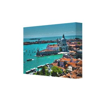 Venecia, Italia - visión aérea Impresiones De Lienzo