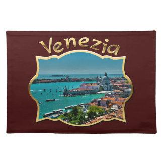 Venecia, Italia - visión aérea Mantel