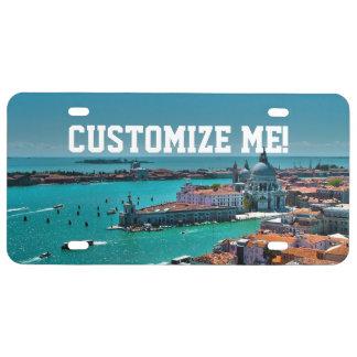Venecia, Italia - visión aérea Placa De Matrícula