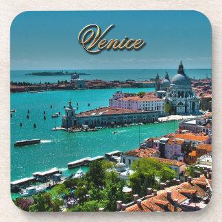 Venecia, Italia - visión aérea Posavasos De Bebida