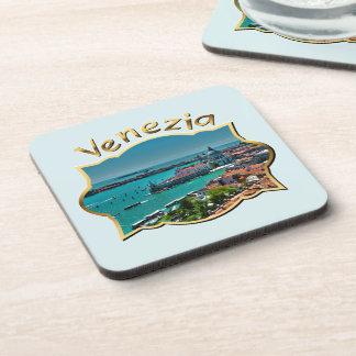 Venecia, Italia - visión aérea Posavasos De Bebidas