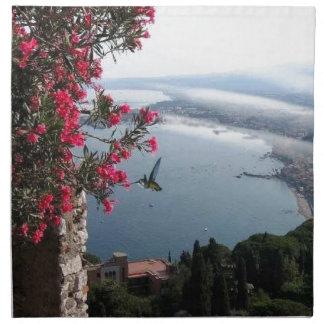 Venecia Italia y colibríes Servilletas De Papel