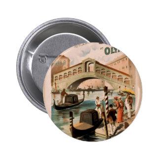 Venecia la novia del mar el Rialto Bridge Pin
