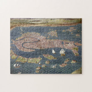 VENECIA: MAPA, siglo XVI Puzzle