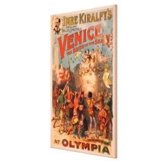 Venecia, novia del mar en el ballet de Olympia Lona Envuelta Para Galerías